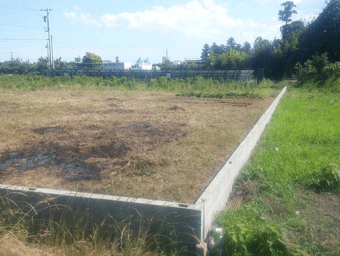 千葉県茂原市新築戸建て施工状況|2017年7月5日|01
