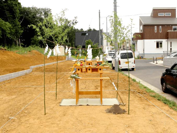 千葉県若葉区新築戸建て施工状況|2017年7月25日|02