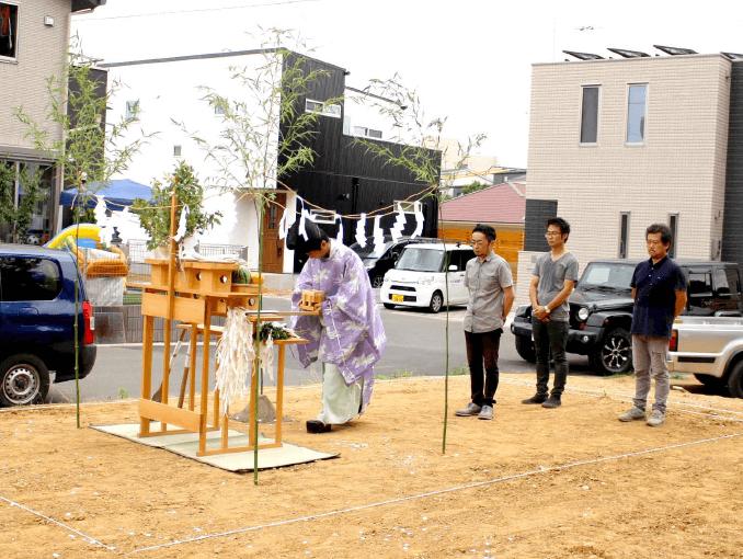千葉県若葉区新築戸建て施工状況|2017年7月25日|04