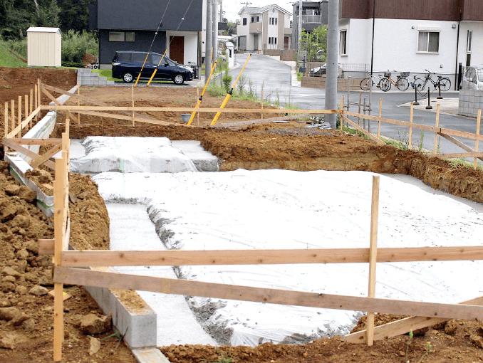 千葉県若葉区新築戸建て施工状況|2017年9月4日|07