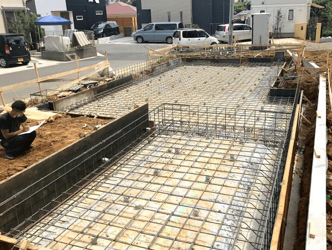 千葉県若葉区新築戸建て施工状況|2017年9月9日|03