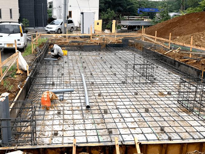 千葉県若葉区新築戸建て施工状況|2017年9月12日|01