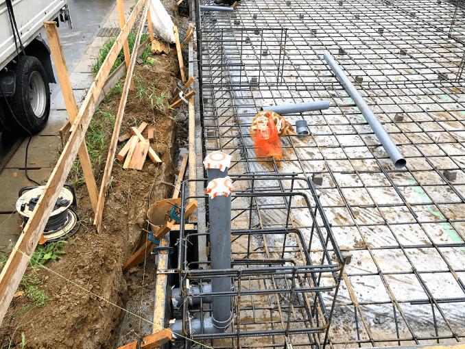 千葉県若葉区新築戸建て施工状況|2017年9月12日|02