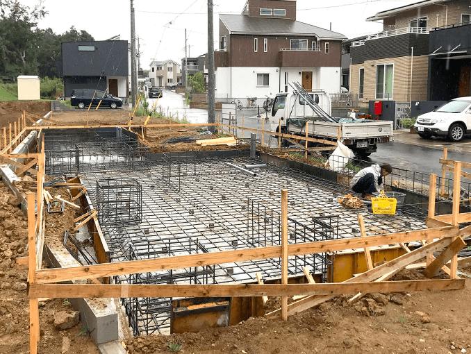 千葉県若葉区新築戸建て施工状況|2017年9月12日|04