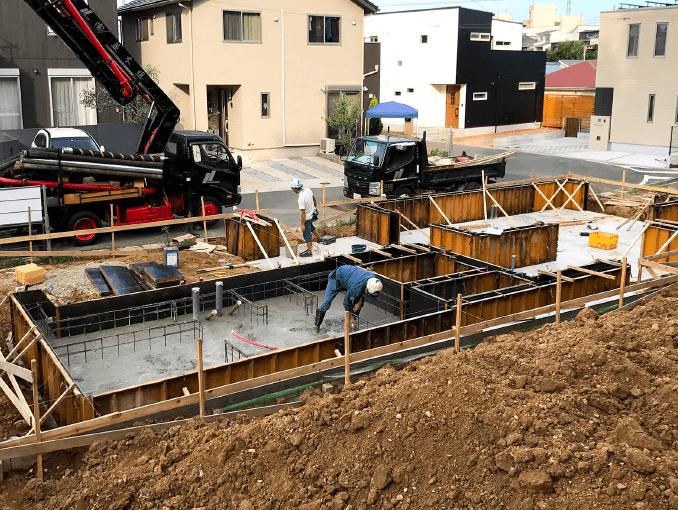 千葉県若葉区新築戸建て施工状況|2017年9月13日|01