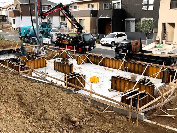 千葉県若葉区新築戸建て施工状況|2017年9月13日|05