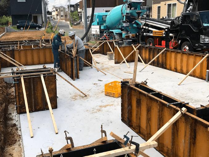 千葉県若葉区新築戸建て施工状況|2017年9月14日|01