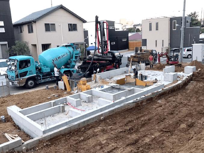 千葉県若葉区新築戸建て施工状況|2017年9月21日|02