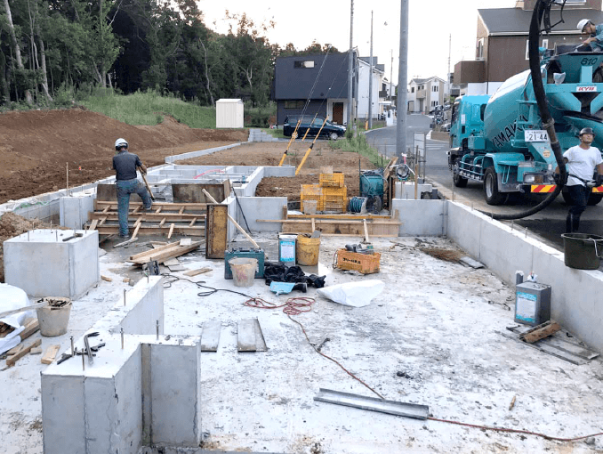 千葉県若葉区新築戸建て施工状況|2017年9月21日|04
