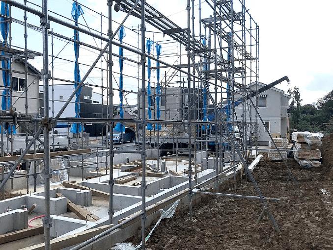 千葉県若葉区新築戸建て施工状況|2017年9月25日|02