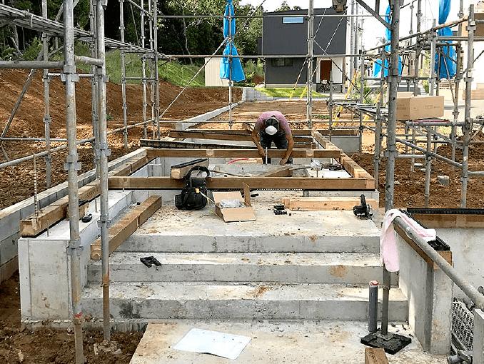 千葉県若葉区新築戸建て施工状況|2017年9月25日|03