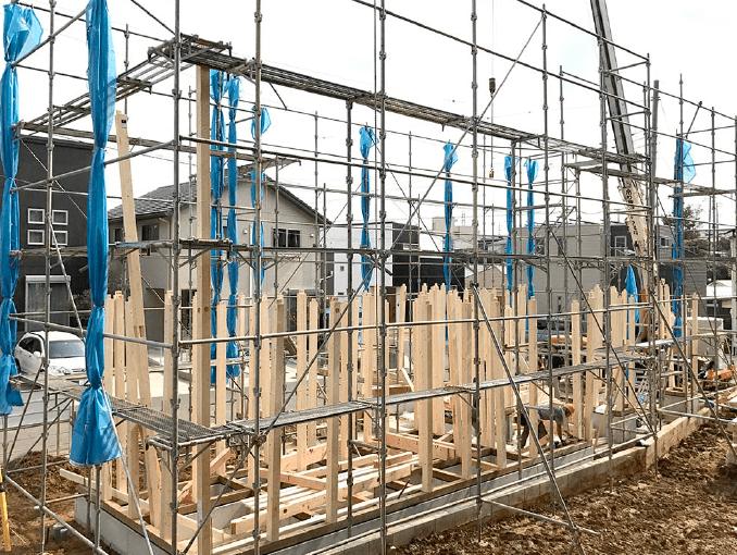 千葉県若葉区新築戸建て施工状況|2017年9月26日|02