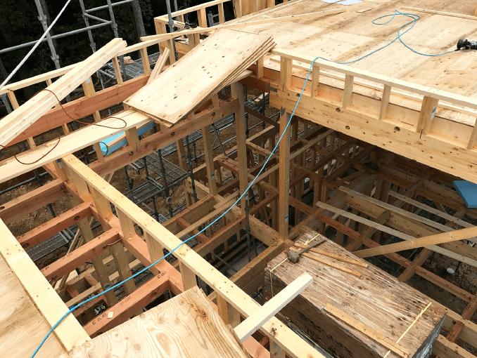 千葉県若葉区新築戸建て施工状況|2017年10月06日|04