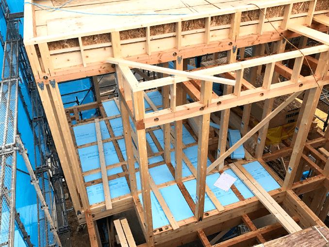千葉県若葉区新築戸建て施工状況|2017年10月10日|03