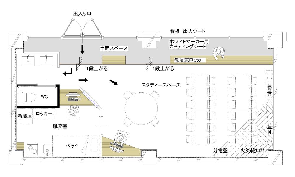 学習塾リノベーション提案プラン|千葉・船橋・リノベーション