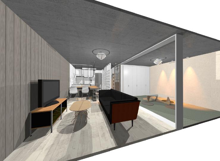 マンションアパートリノベーション提案プラン|店舗内装工事