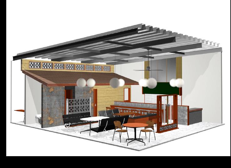 カフェ、バーリノベーション提案プラン|船橋・千葉・リノベーション