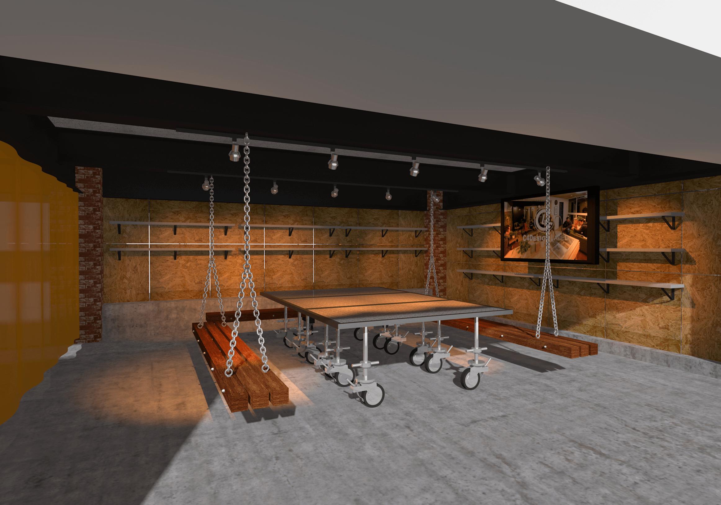 オフィス休憩室|C4 DESIGN LABEL