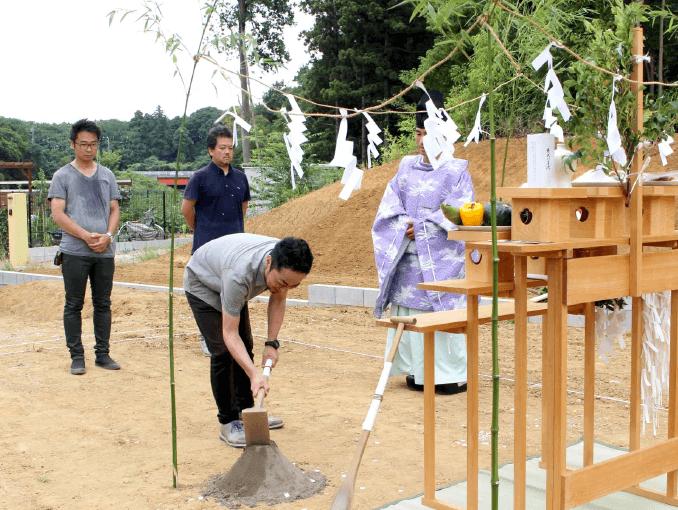 千葉県若葉区新築戸建て施工状況|2017年7月25日|05