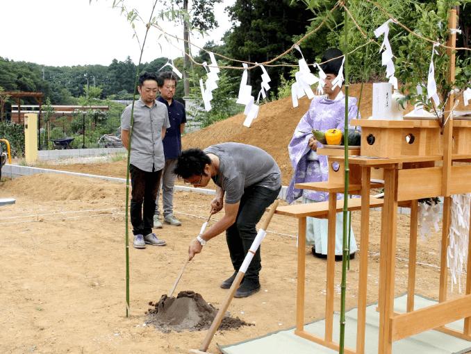 千葉県若葉区新築戸建て施工状況|2017年7月25日|06