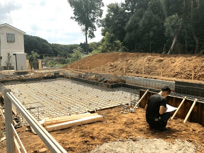 千葉県若葉区新築戸建て施工状況|2017年9月9日|01