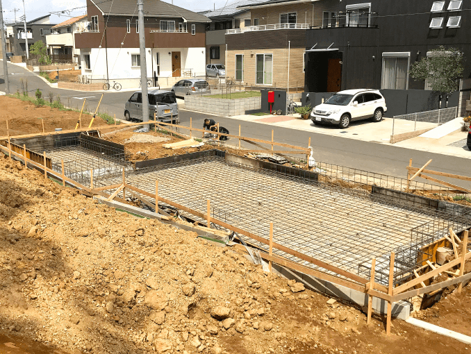 千葉県若葉区新築戸建て施工状況|2017年9月9日|04
