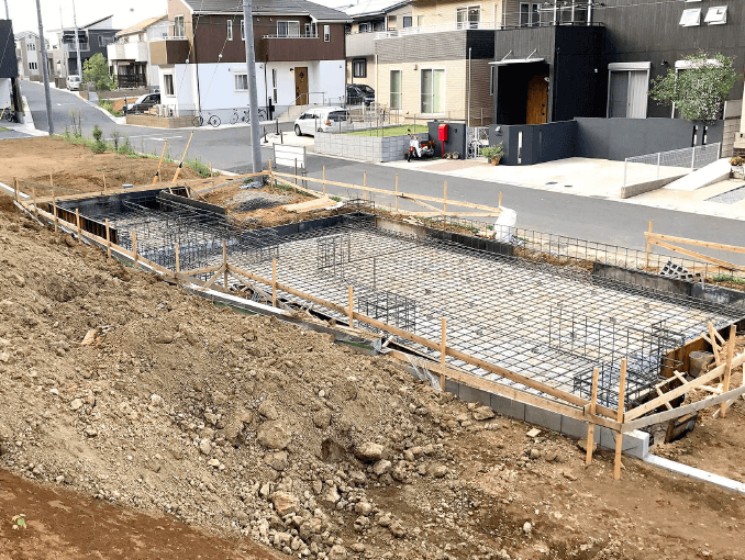 千葉県若葉区新築戸建て施工状況|2017年9月11日|06