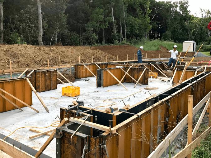 千葉県若葉区新築戸建て施工状況|2017年9月13日|02