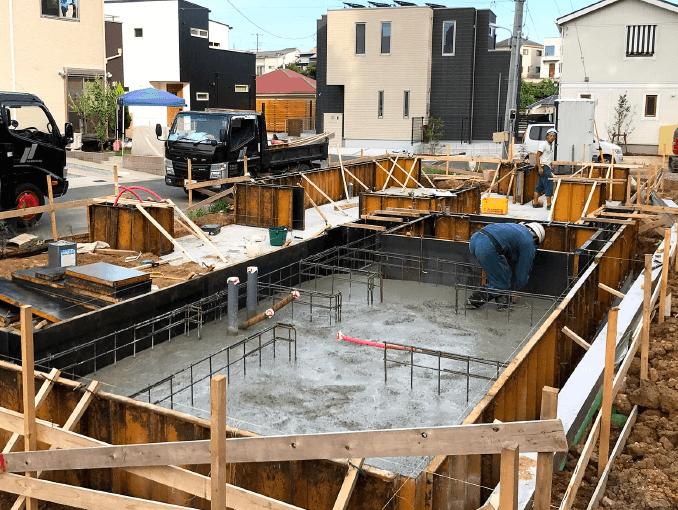 千葉県若葉区新築戸建て施工状況|2017年9月13日|04