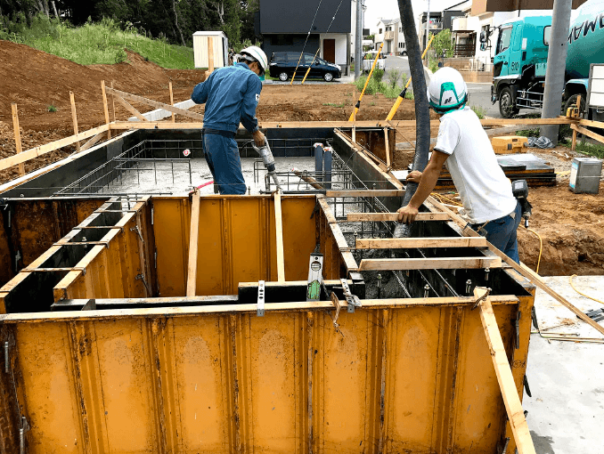 千葉県若葉区新築戸建て施工状況|2017年9月13日|06