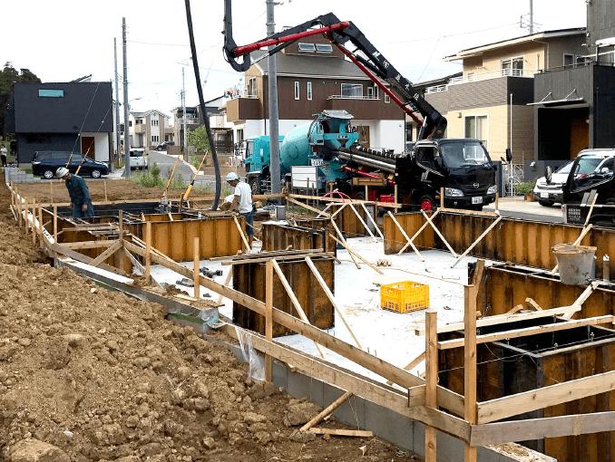 千葉県若葉区新築戸建て施工状況|2017年9月13日|08