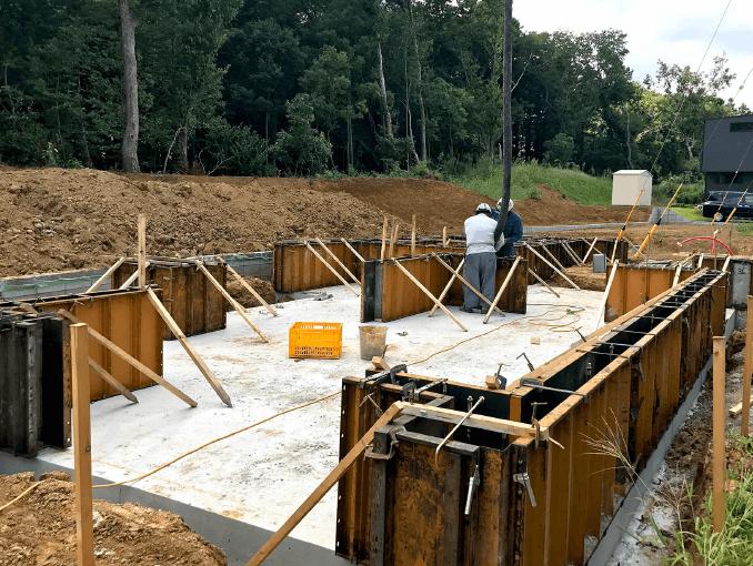 千葉県若葉区新築戸建て施工状況|2017年9月14日|02