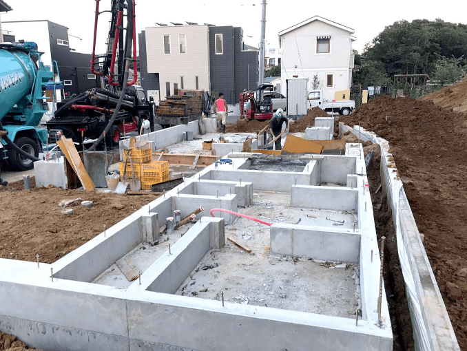 千葉県若葉区新築戸建て施工状況|2017年9月21日|03