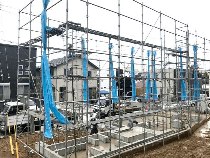 千葉県若葉区新築戸建て施工状況|2017年9月22日|02