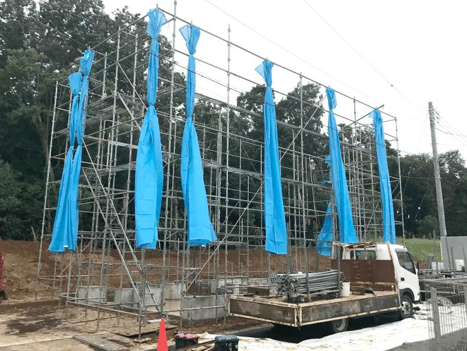 千葉県若葉区新築戸建て施工状況|2017年9月22日|03