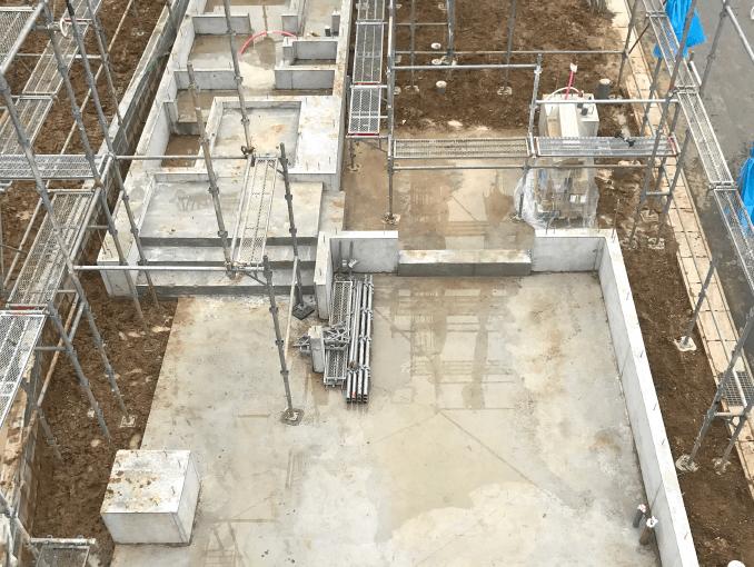 千葉県若葉区新築戸建て施工状況|2017年9月22日|04