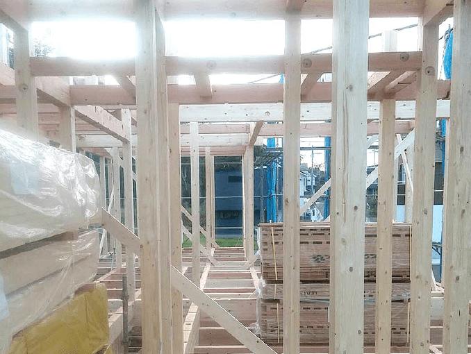 千葉県若葉区新築戸建て施工状況|2017年9月26日|01