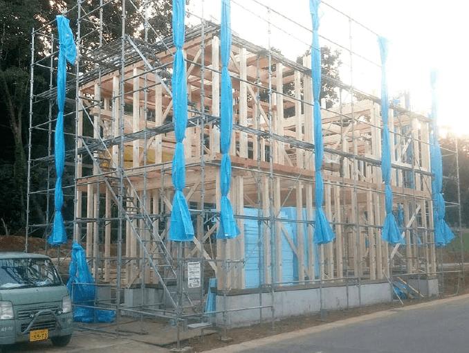 千葉県若葉区新築戸建て施工状況|2017年9月26日|04