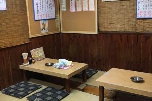 居酒屋さん 改修工事(床)!