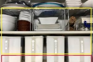 【時短家事】片手で取れるキッチン収納