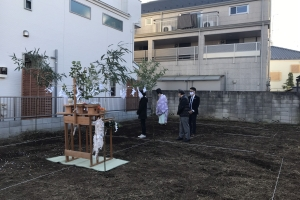 東京都板橋区Y様邸 地鎮祭