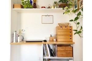 リビング収納にイチオシなオープン棚