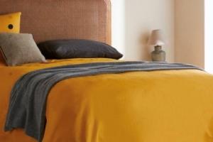 ベッドスプレッドで寝室インテリアをランクアップ