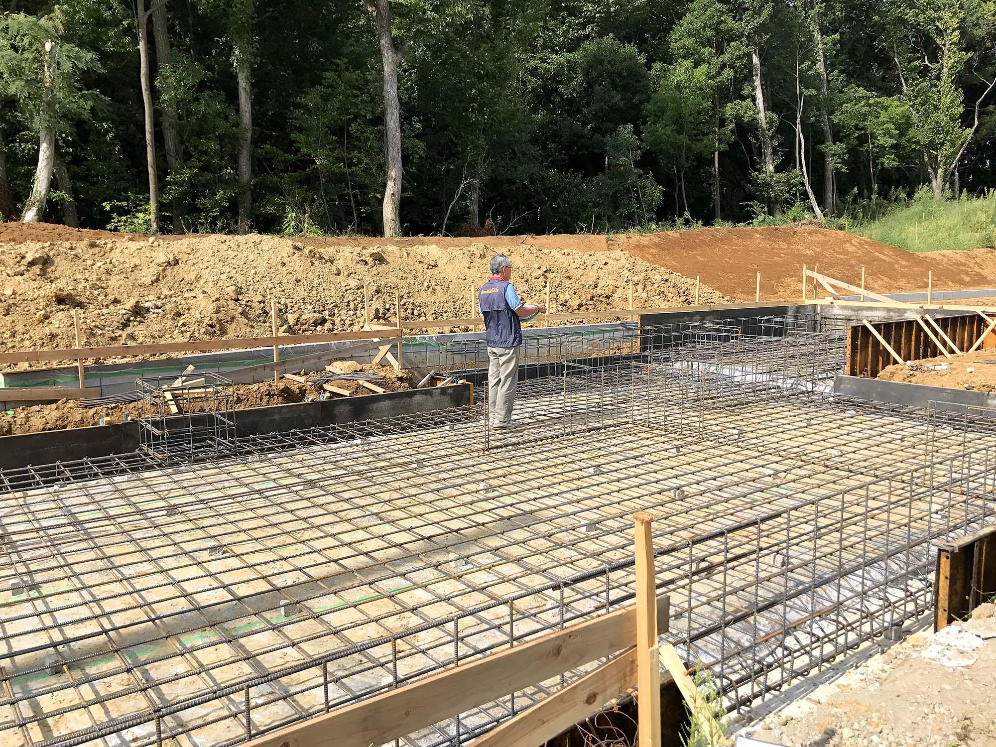 千葉市若葉区Y様邸新築戸建て施工状況2017年9月12日