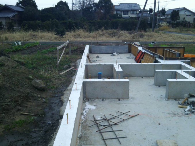 千葉県茂原市新築戸建て施工状況|2017年9月22日|08