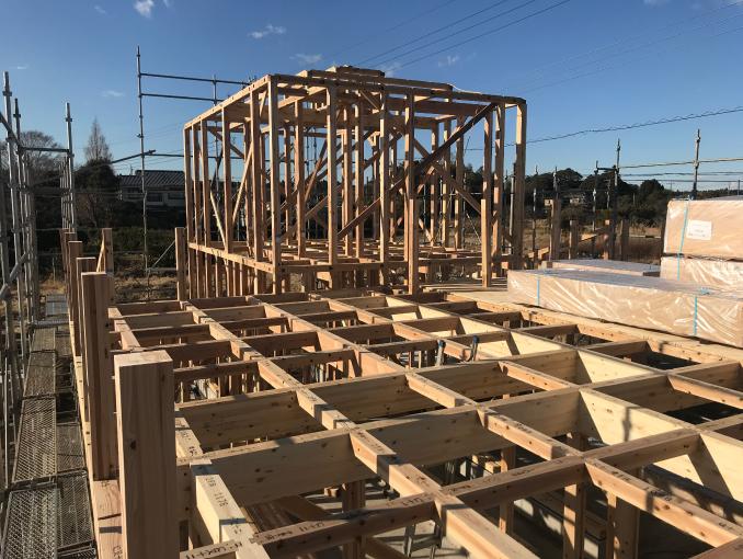 千葉県茂原市新築戸建て施工状況|2017年9月22日|01