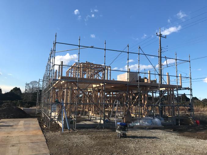 千葉県茂原市新築戸建て施工状況|2017年9月22日|03