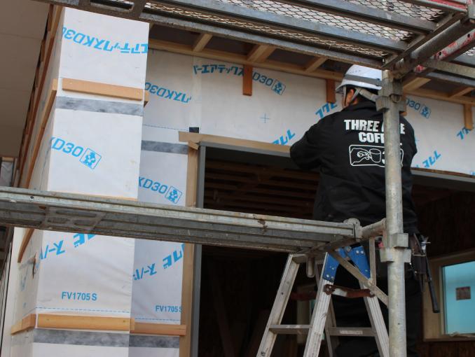 千葉県若葉区新築戸建て施工状況|2017年11月20日|01