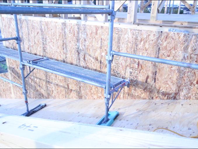 千葉県茂原市新築戸建て施工状況|2017年9月22日|05
