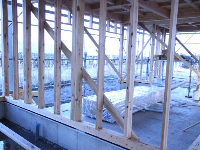 千葉県茂原市新築戸建て施工状況|9月22日|01